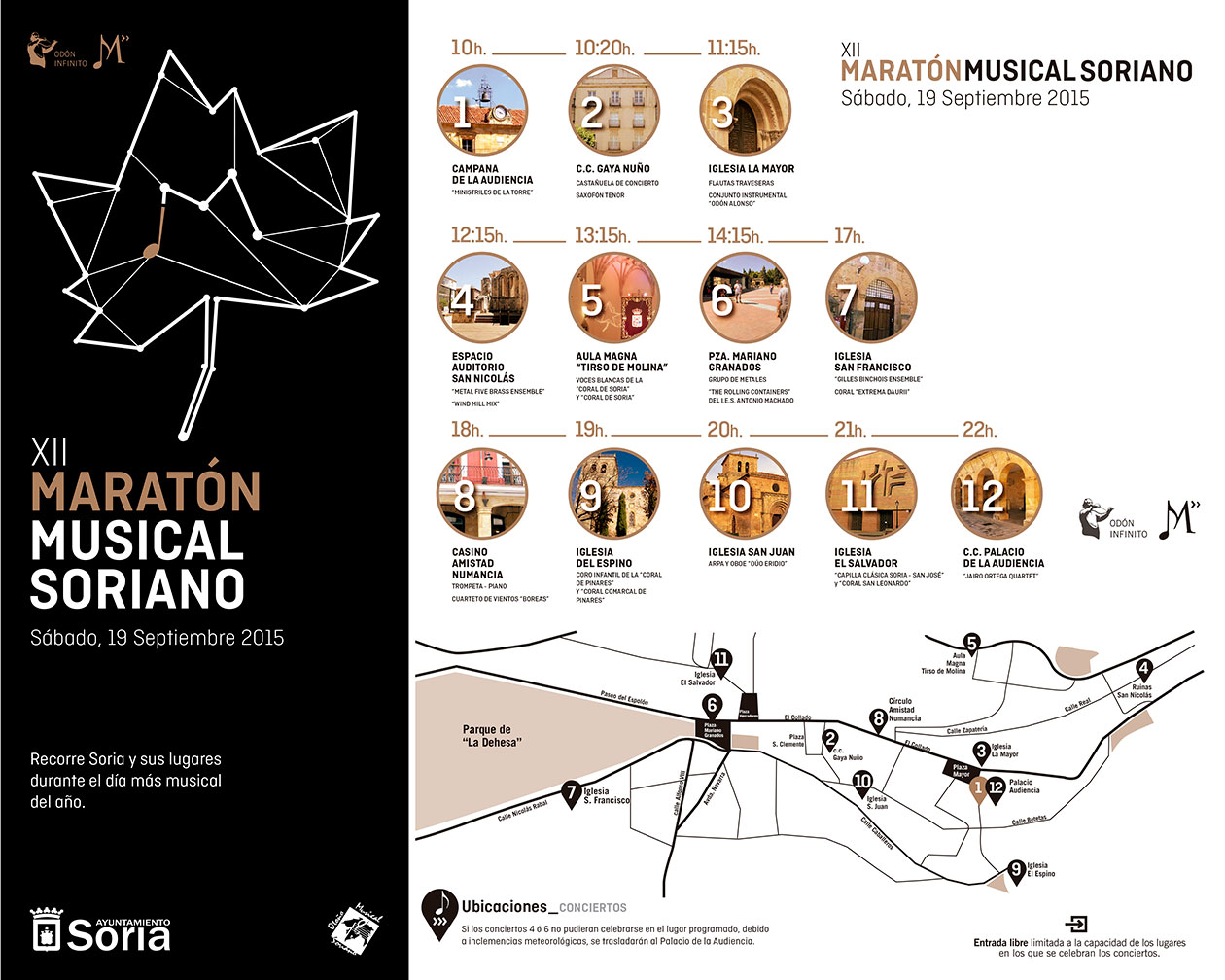 La Coral de Soria participa en la XII Edición del Maratón Musical Soriano